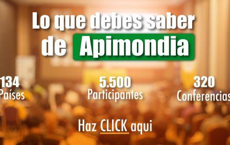 Apimondia es el congreso mundial apícola, con sede en Chile para la cita de 2023.